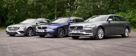 Noua masina in cinci usi de la BMW vrea coroana. Se bate cu Mercedes si Volvo pentru suprematie. VIDEO