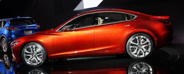 Noua Mazda 6 ar putea fi disponibila si intr-o versiune coupe