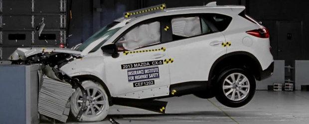Noua Mazda CX-5 a obtinut punctaj maxim la testele de siguranta din SUA