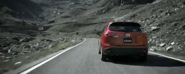 Noua Mazda CX-5 alearga pe Transfagarasan in cea mai noua reclama