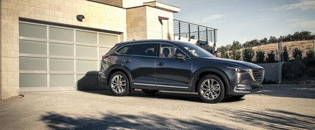 Noua Mazda CX-9 se lanseaza in premiera cu motor turbo pe benzina