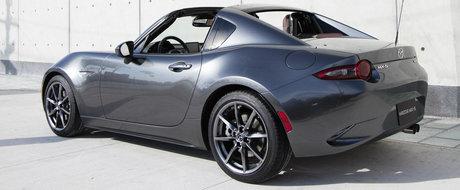 Noua Mazda MX-5 RF ajunge pentru prima oara in Europa. Unde si cand poti admira decapotabila japoneza