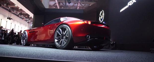 Noua Mazda RX-Vision arata sexy indiferent de unghiul din care este privita