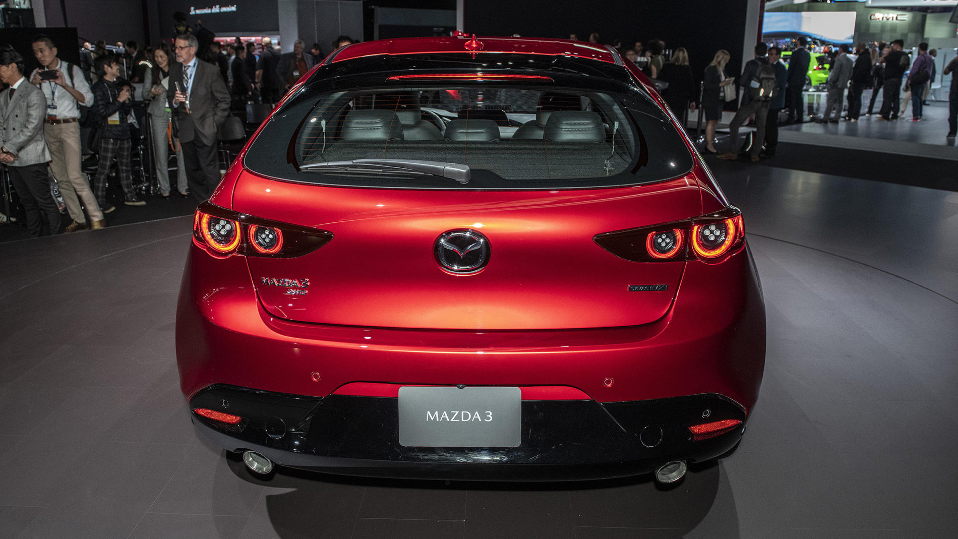 Noua Mazda3 - Poze Reale - Noua Mazda3 - Poze Reale