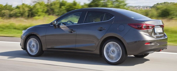Noua Mazda3 Sedan - Primele imagini oficiale!