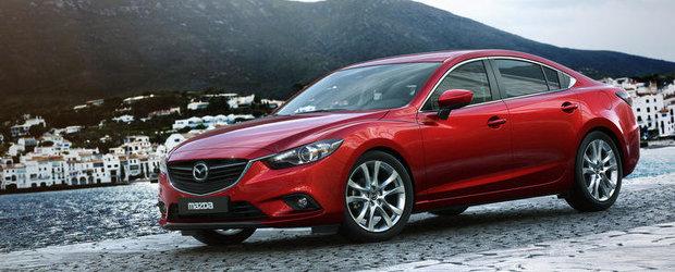 Noua Mazda6, dezvaluita in premiera mondiala la Salonul Auto de la Moscova