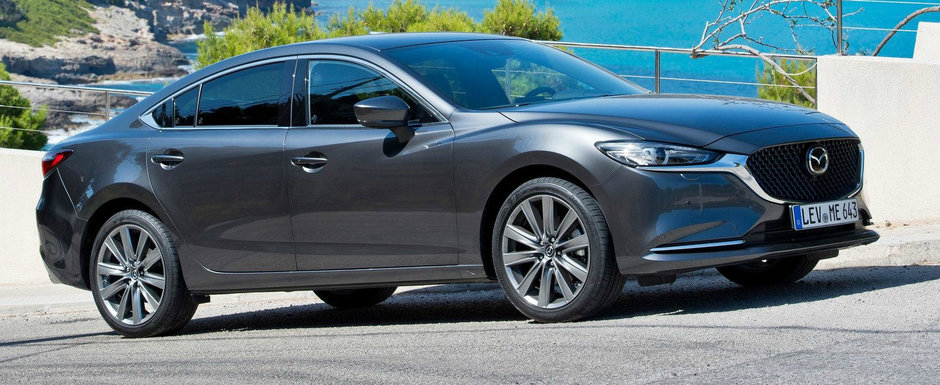 Noua Mazda6, la vanzare si in Romania. Cat costa masina care concureaza cu Volkswagen Passat