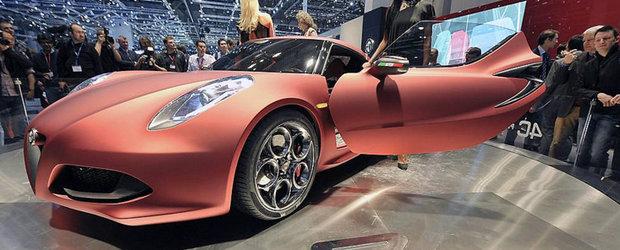 Noua motorizare pentru Alfa Romeo 4C