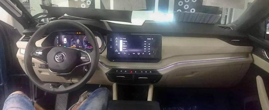 Noua Octavia 4 a ajuns mai devreme pe internet. Pozele pe care cehii de la Skoda le vor sterse urgent