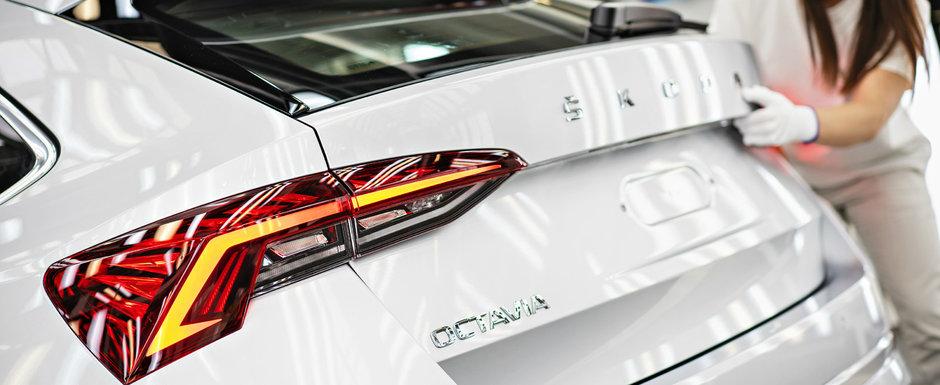 """Noua Octavia a intrat in productie. Modelul ceh este de 10 ani masina """"straina"""" preferata a romanilor"""