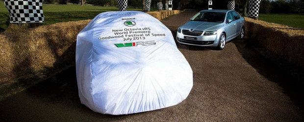 Noua Octavia RS, lansare oficiala in iulie in Anglia