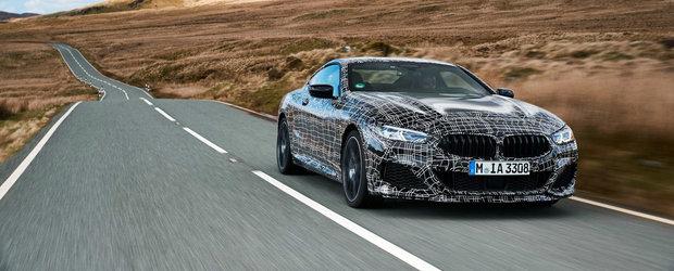 """Noua SERIE 8 este o """"masina sport pentru gentlemeni"""". Ce alte laude a primit in cel mai nou teaser BMW"""