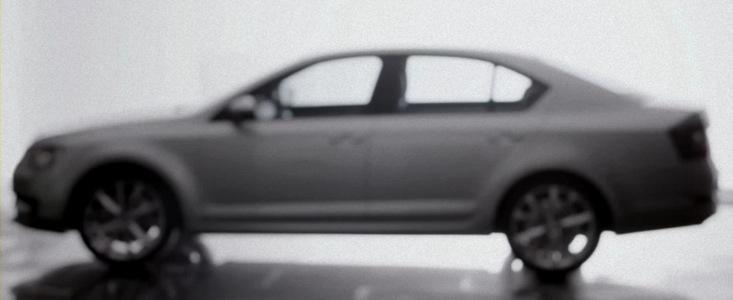 Noua Skoda Octavia 3 isi face aparitia in primul video oficial