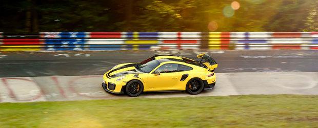 Noua sportiva de 700 CP de la Porsche tocmai a devenit cea mai rapida masina de serie de pe Nurburgring. VIDEO de la volan cu recordul