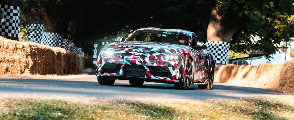Noua SUPRA este tot mai departe de visurile impatimitilor. Toyota confirma si un propulsor cu patru cilindri in gama