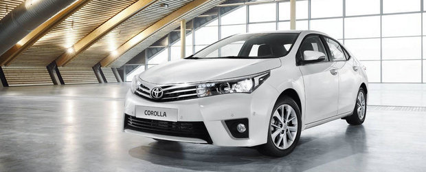 Noua Toyota Corolla, lansata in Europa