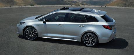 Noua Toyota Corolla Touring Sports: ea te va face sa uiti cu totul de Volkswagen Golf Variant