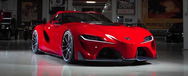 Noua Toyota FT-1 Concept viziteaza Garajul lui Jay Leno
