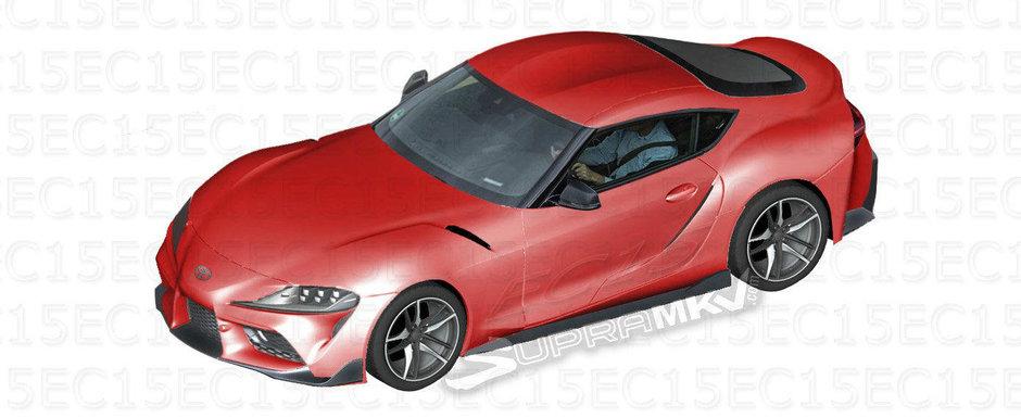 Noua Toyota Supra, in cele mai clare imagini de pana acum. Cum arata sportiva japoneza