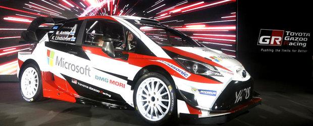 Noua Toyota Yaris ia startul la Monte Carlo cu echipa GAZOO Racing