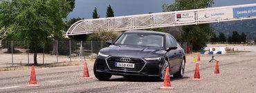 Noul A7 trece testul elanului ca un campion. Masina germana sta lipita de asfalt in orice conditie
