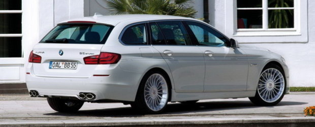 Noul Alpina B5 Touring redefineste termenul de station wagon