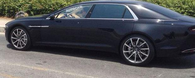 Noul Aston Martin Lagonda iese in teste, complet necamuflat