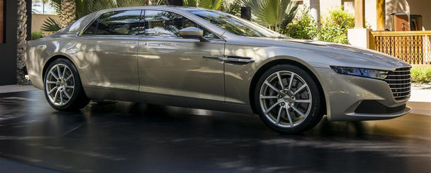Noul Aston Martin Lagonda se vinde la arabi sub numele de... Taraf
