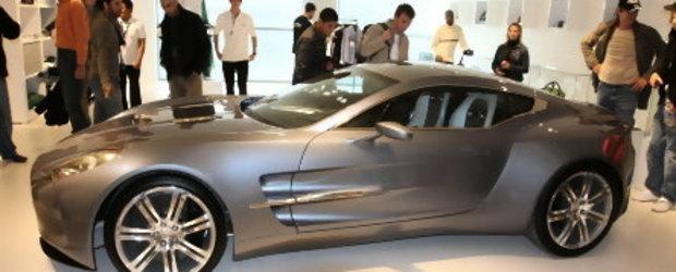 Noul Aston Martin One-77, prezent la Nurburgring