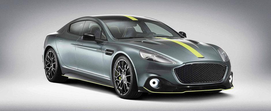 Noul Aston Martin Rapide AMR: V12 de peste 600 de cai, 210 exemplare si 230.000 de euro pret de pornire