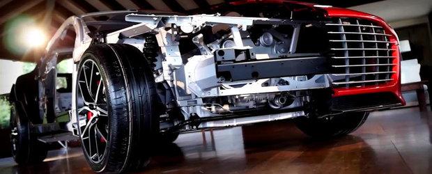 Noul Aston Martin Rapide S ne dezvaluie toate secretele sale. VIDEO AICI!