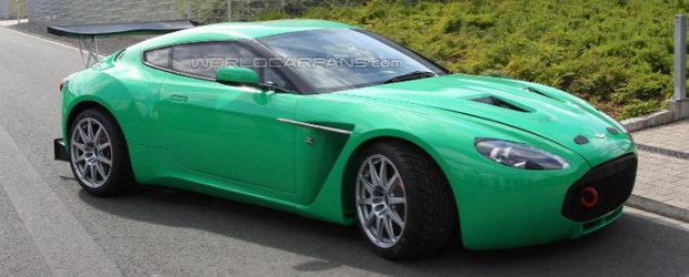 Noul Aston Martin V12 Zagato debarca la Nurburgring