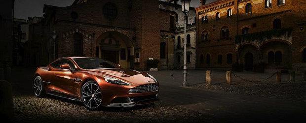 Noul Aston Martin Vanquish - Putere, suflet si eleganta la superlativ!