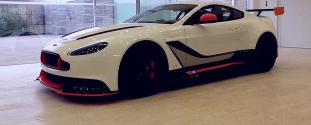 Noul Aston Martin Vantage GT3 suna la fel de agresiv precum arata