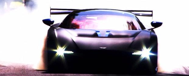 Noul Aston Martin Vulcan se dezlantuie in ultimul sau clip promotional