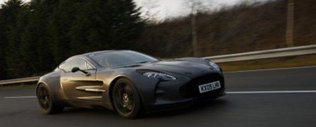 Noul Aston One-77 atinge 355 km/h!