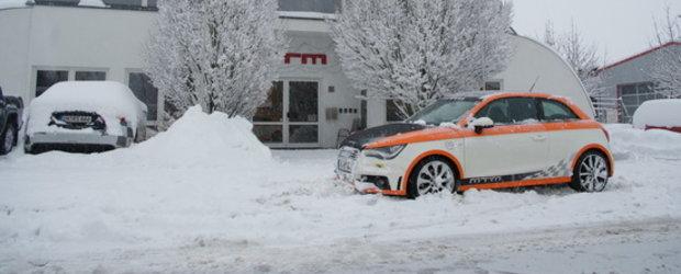 Noul Audi A1, pregatit de MTM pentru petrecerea de Craciun