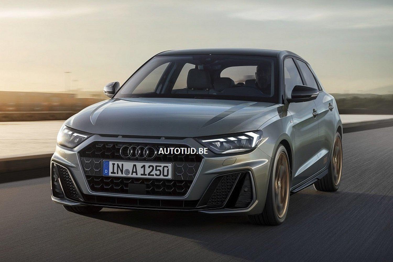 Noul Audi A1 - Primele poze - Noul Audi A1 - Primele poze