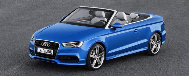 Noul Audi A3 Cabriolet, dezvaluit oficial