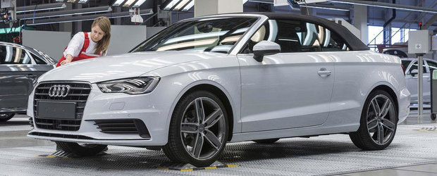 Noul Audi A3 Cabriolet intra in productie