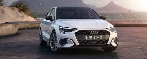 Noul Audi A3, de-acum si cu instalatie de GAZ direct din fabrica. Consumul anuntat de producator