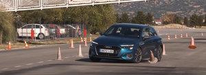 Noul Audi A3 s-a facut de ras la testul elanului. VIDEO ca sa te convingi si singur
