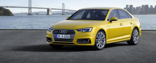 Noul Audi A4 iese la vanzare. Cat costa modelul german