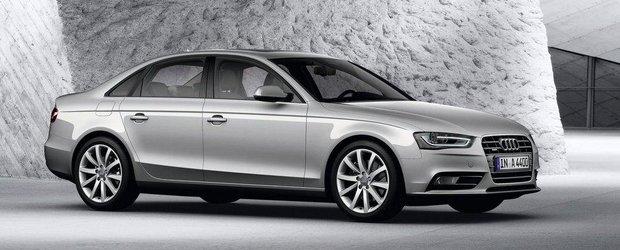 Noul Audi A4 va avea un look mai agresiv si va beneficia de tehnologia de dezactivare a cilindrilor