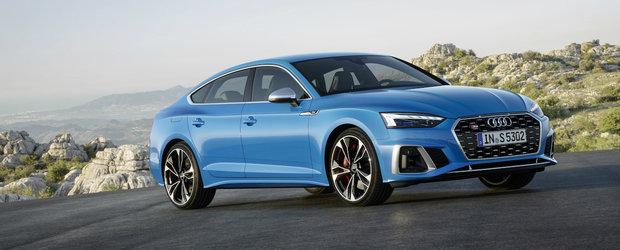 Noul Audi A5 Facelift apare de nicaieri si ni se arata din toate unghiurile posibile si imposibile. GALERIE FOTO COMPLETA