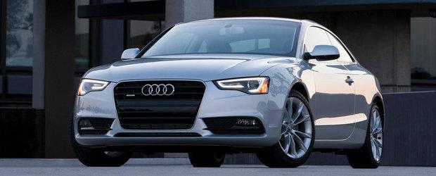 Noul Audi A5, mai usor cu 100 de kilograme
