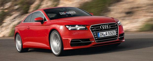 Noul Audi A5 va fi mai usor cu 90 de kilograme decat predecesorul sau