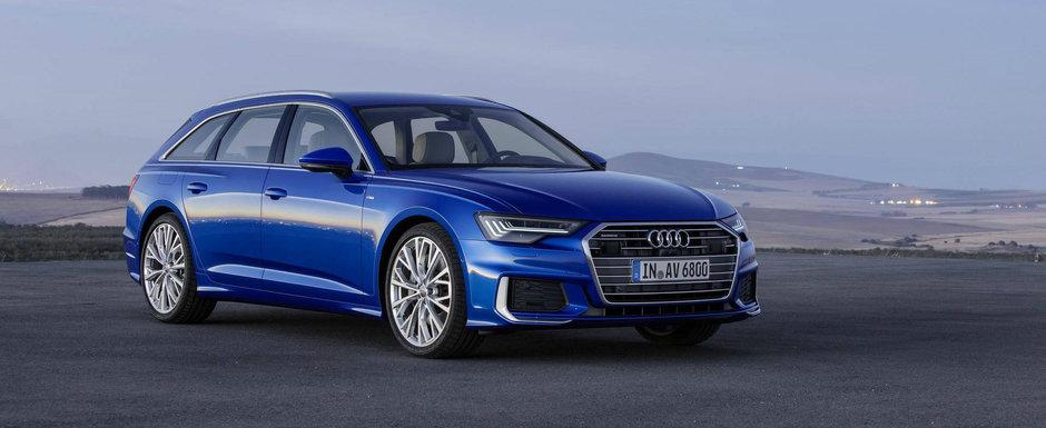 Noul Audi A6 Avant este aici si vrea titlul pentru cel mai practic break. Unde mai pui ca arata de milioane
