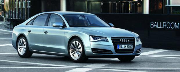 Noul Audi A8 Hybrid - Cea mai eficienta limuzina hibrid din lume