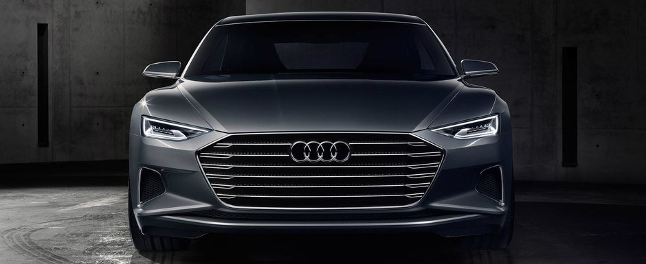 Noul Audi A8 se lanseaza in vara. Limuzina germana ar putea primi un motor V10 TDI